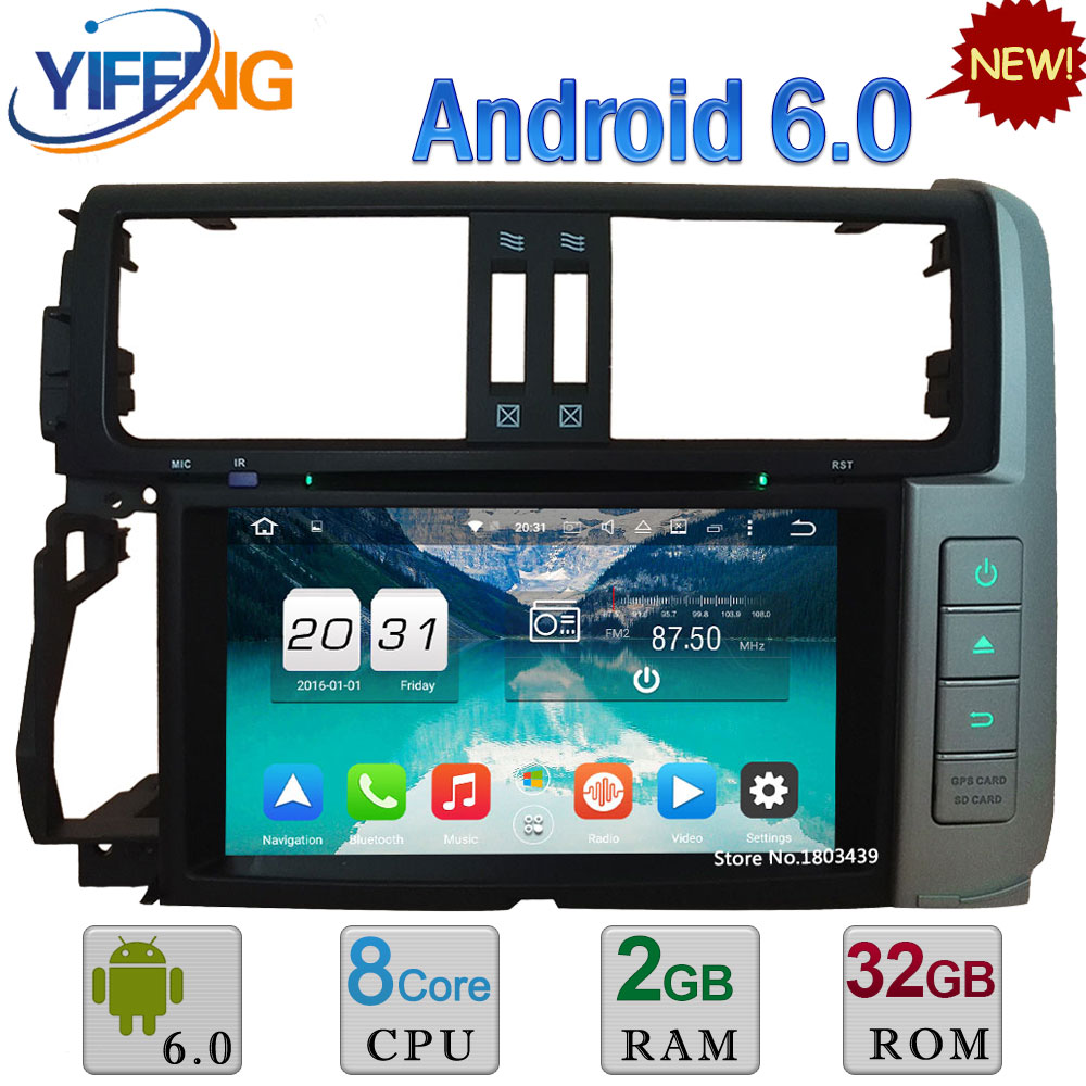 WIFI Android 6 0 8 Octa Core 2GB RAM 4G DAB Car DVD Player Radio For