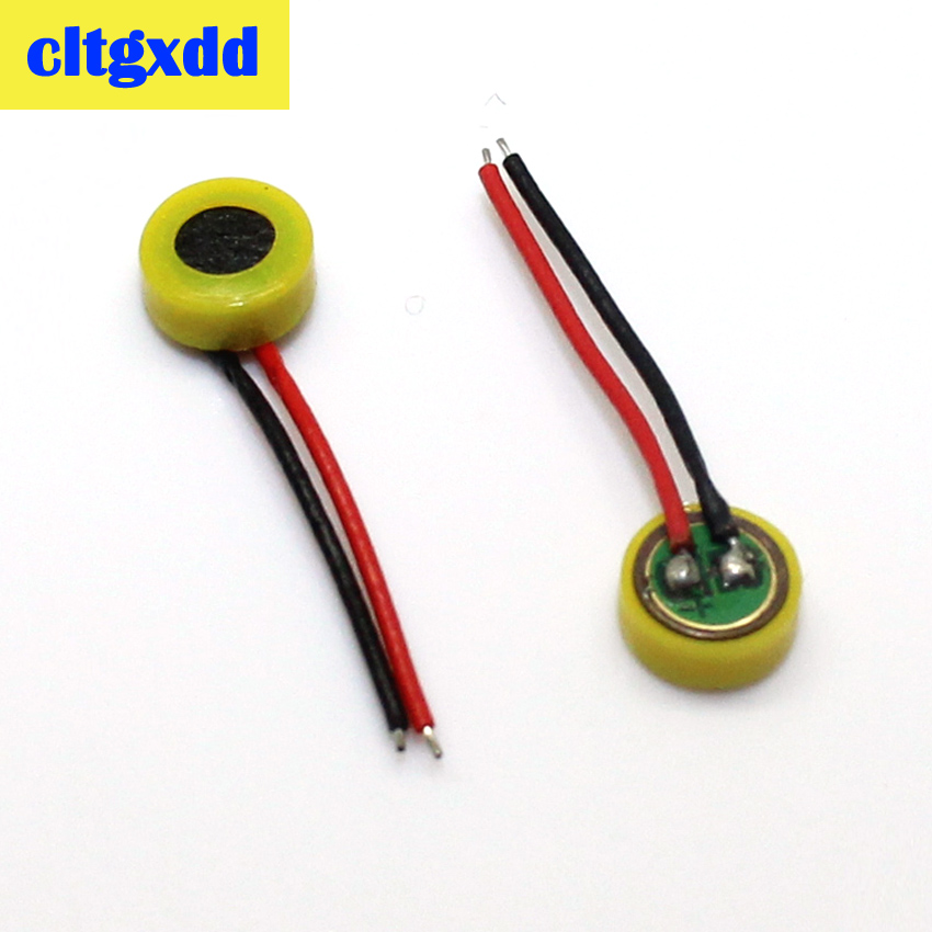 cltgxdd 10pcs two-wire microphone phone built-in microphone replacement repair parts For Lenovo ZTE cell phone Component