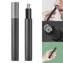 Mini Electric Nose Hair Trimmer Waterproof Safe Cleaner Tool Portable Pro Men Nose Trimmer Nose Hair Remover