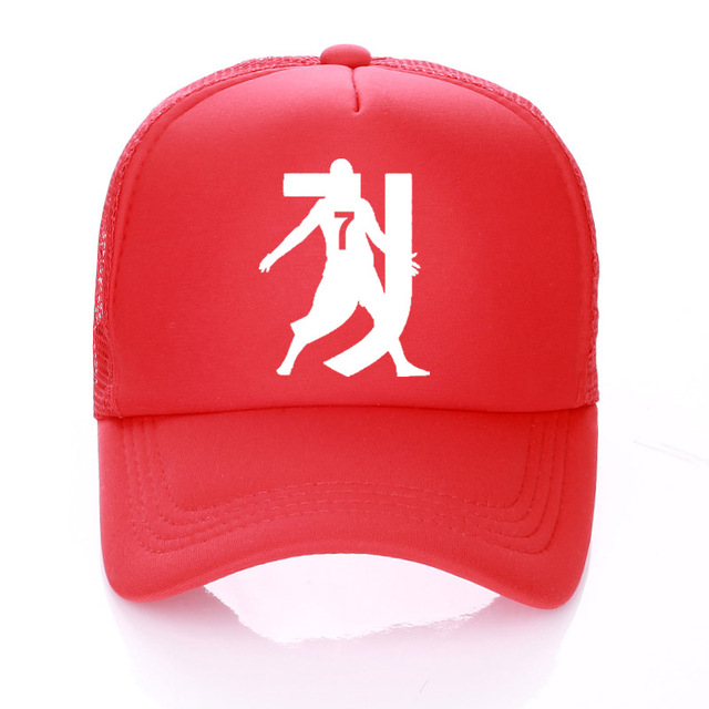 bc36ce72 RONALDO hat Kids/Adult Summer Baseball Hat RONALDO Caps Fans ronaldo Trucker  Cap Net Snapback For Men Women No.7 hats