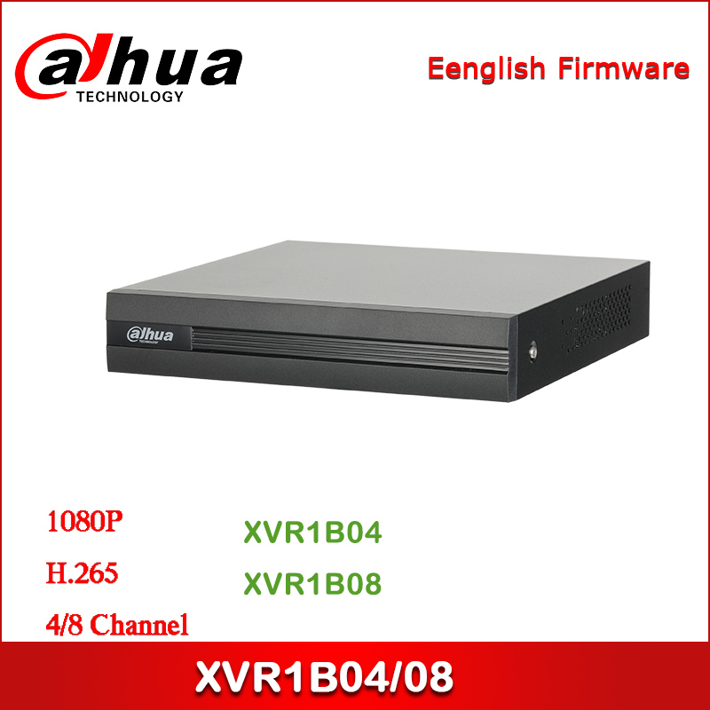 Dahua XVR1B04 XVR1B08 4/8 Channel Penta-brid 1080N/720P Cooper 1U Digital Video Recorder
