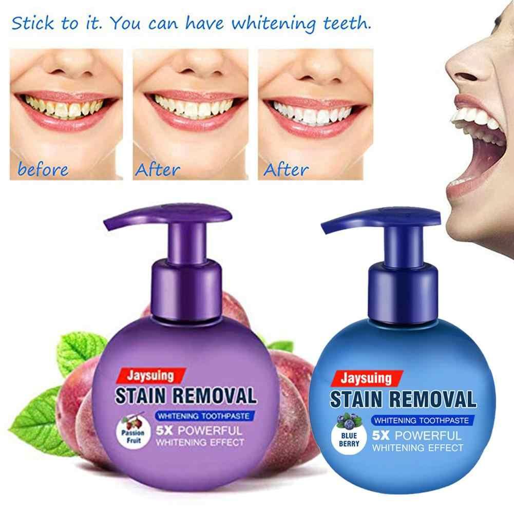 Удаление пятен отбеливающая зубная паста борется с кровотечением десны