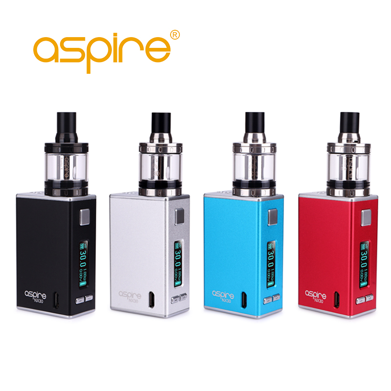 Original Electronic Cigarette Aspire X30 Rover Kit With 2ML Nautilus X Tank Atomizer NX30 Box Vape Mod e-cigarettes vaporizer