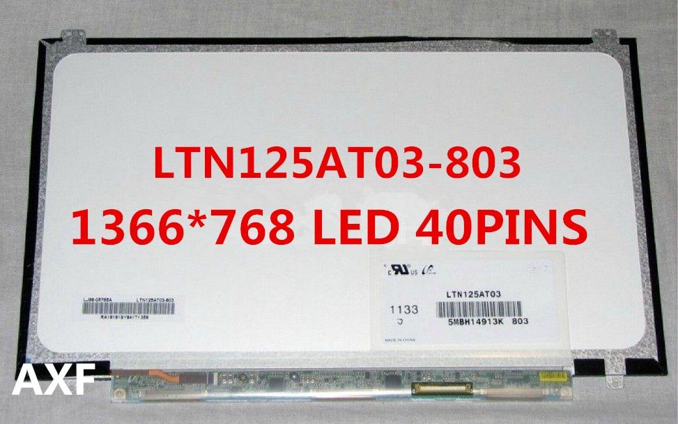 For Samsung 350U2B-A04 NP400B2B NP350U2A A01 Original New LTN125AT03 LTN125AT03-803 LTN125AT03-801 laptop LCD screen Matrix 12.5 все цены