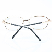 Full Metal Frame Glass Lenses Female Male Reading Glasses Women Men Unisex Eyewear +1.0 1.5 2 2.5 3 3.5 4 4.5 5 5.5 6