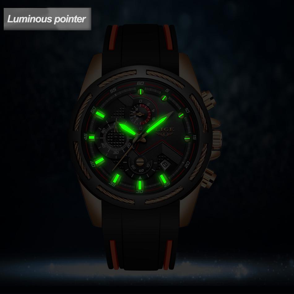 LIGE Reloj deportivo 6
