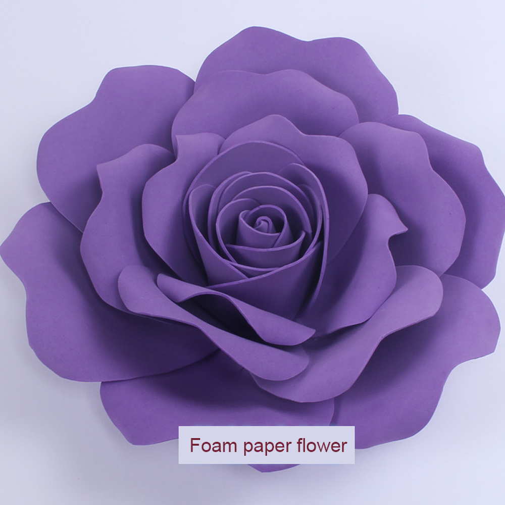 5x10cm Foam Flowers Wedding Decoration Large Artificial Flowers