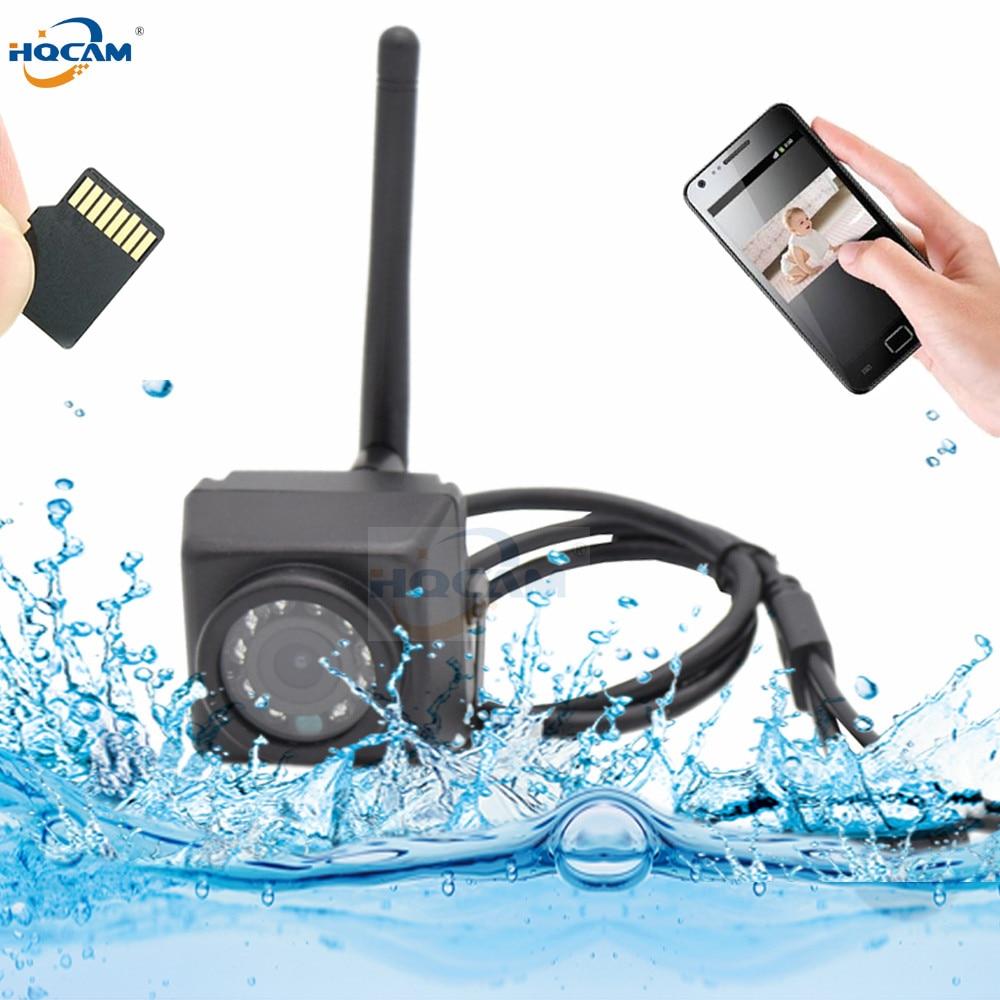 HQCAM Camhi 1080P Mini Waterproof IP66 TF card slot IR Night Vision IP Camera Wifi Outdoor