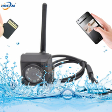 HQCAM Camhi 1920P 1080 p กันน้ำ IP66 ช่องเสียบการ์ด TF IR Night Vision IP กล้อง Wifi รถกลางแจ้ง & Vehicle Fleet & Bird Nest