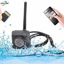 HQCAM Camhi 1920P 1080P מיני עמיד למים IP66 TF כרטיס חריץ IR ראיית לילה IP המצלמה Wifi חיצוני רכב & צי רכב & ציפור קן