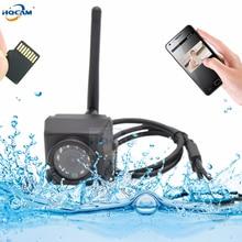 HQCAM Camhi 1920P 1080P Mini Waterproof IP66 TF card slot IR Night Vision IP Camera Wifi Outdoor Car & Vehicle Fleet & Bird Nest