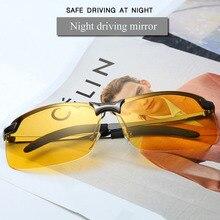 Sunglasses HD Aluminium Frame Polarized Men's Sunglasses Nig