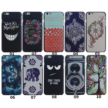 2016 New high Arrival Hot PC Hard Transparent Phone Skin Back Case Cover For Apple iPhone