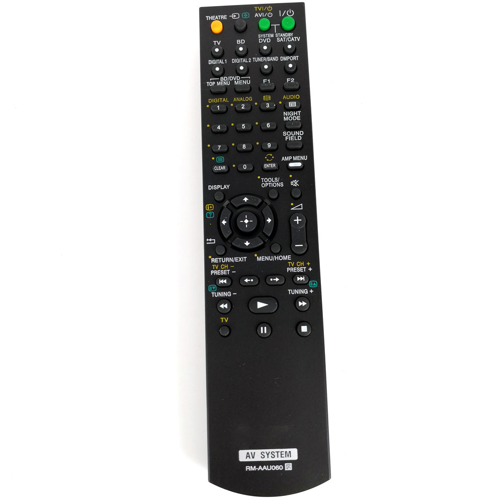 New Replacement RM-AAU060 Remote Control For Sony AV System HT-SS360 STR-KS360 STR-KS360S