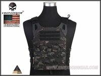 Emerson Molle CP Style Adaptive Vest CPM 2.0 Tactique Gilet Combat Protection Poitrine Plate Carrier Vest Multicam Noir EM7436MCBK