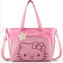 Canvas Baby Diaper Bag For Mom Mummy Mother Hello Kitty Maternity Nappy Bags High Qaulity Thermal
