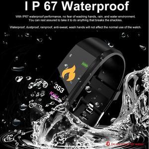 Image 2 - HORUG Smart Armband Fitness Armband Für Xiao mi mi Band Smart Armband Blutdruck Smart Band Pedometer Herz Rate Monitor