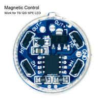 JYL-9803 Magnetic Control Taschenlampe Stick Bord 5 Modi PCB Platte für 1 stück 18650 Lithium-Batterie T6/XPE