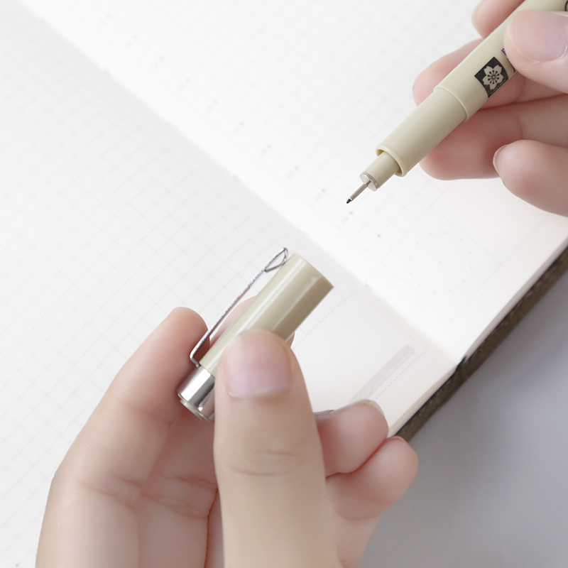 7 pcs Sakura Micron pigma pen set Fine tip liner drawing gel pen Sketch manga Art marker School supplies Stationery FB922 in Art Markers from Office School Supplies