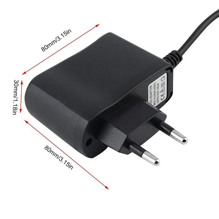 Универсальный AC 100-240 В к DC 9 В 1A переключения высокое Питание адаптер конвертер ЕС Plug для LED полоски для мобильного доступа телефона