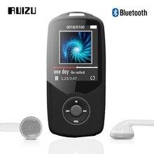 2017 оригинальные ruizu X06 Bluetooth спортивные MP3 плеера 1.8 дюймов Экран высокое качество звука без потерь с Регистраторы fm Радио