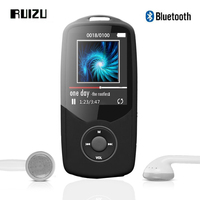 2015 New Original RUIZU X06 Bluetooth Sports MP3 Music Player 4GB 1 8Inch Screen 80hours High