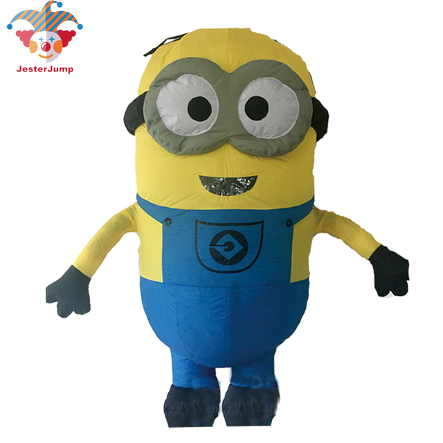 Minions Halloween Costume.Us 36 77 10 Off Purim Carnival Parade Costumes Minions Inflatable Despicable Adult Fancy Dress Costume Halloween Costume Minions Mascot In Anime
