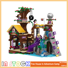 Legoings technic Friends City Girl Adventure Camp Tree House Party DIY Model Building Blocks Bricks Kids House Gifts Toys