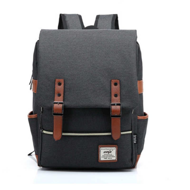2018 Vintage Rucksacks Canvas Backpacks School Bags for Teenagers Boys Girls Large Capacity Laptop Backpack Fashion Men Backpack