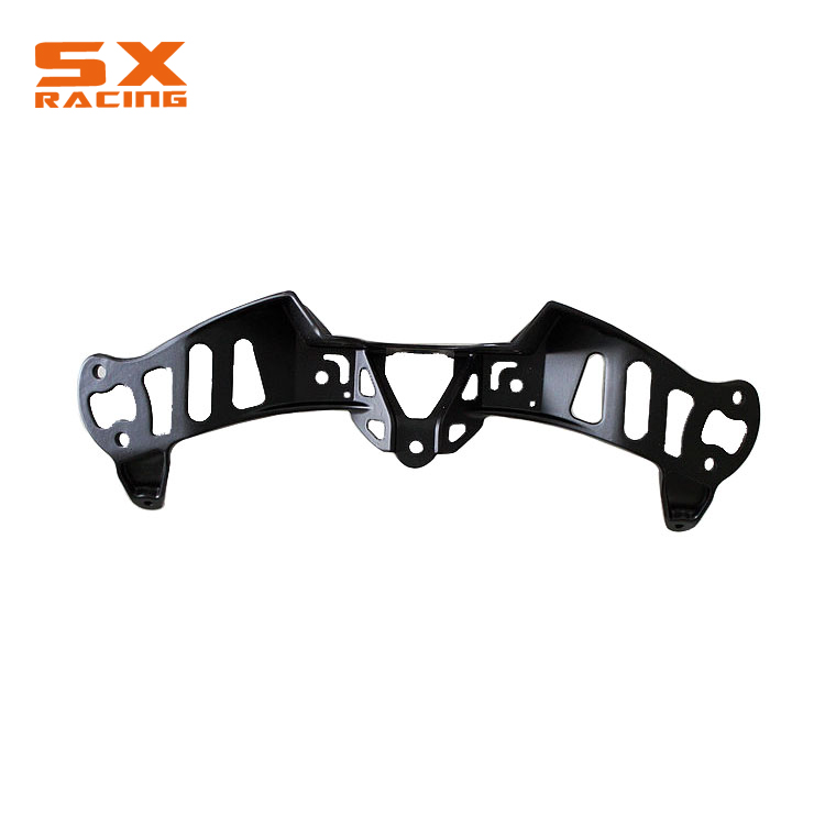 Motorcycle Front Upper Fairing Aluminum Bracket Stay Racer Light For KAWASAKI ZX10R ZX-10R 2006-2007 2006 2007