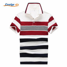 Covrlge Men Polo Shirt 2017 Summer Male Shirts Collar Polo Brand Clothing Short Sleeve Fit Mens Polos Casual Shirts Men MTP037