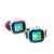Touch screen smart card lanterna alarme chamadas história e posicionamento das crianças esportes de relógios eletrônicos