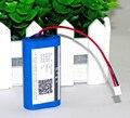 7.2 V/7.4 V/8.4 V 18650 2200 mah bateria de lítio recarregável amplificadores battery pack + frete grátis
