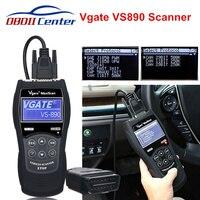 Vgate VS890 Car Diagnostic Scanner OBD2 Auto Code Reader Maxiscan VS 890 VS890S ObdII Scanner VS 890 Support Multi brands Cars