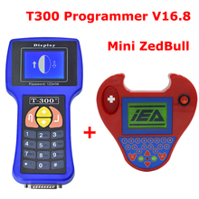 T300 Auto Key Программист V16.8 английский/spansih T-300 + мини Zed Bull Zedbull Ключи Maker работает мультибрендовый