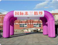 Новый Дизайн Индивидуальные Практические Purples реклама надувные арки палатка для продажи