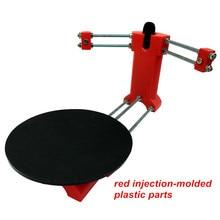 Ciclop 3d сканер DIY kit, с Открытым исходным кодом 3D сканер, красный литья пластмасс под давлением деталей