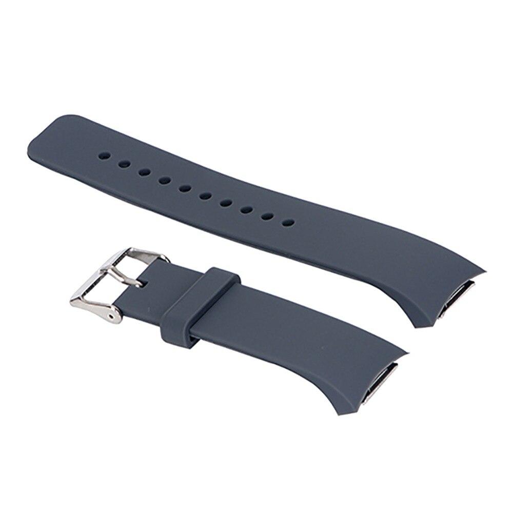 Для Samsung Galaxy Gear S2 R720 Ремешки для наручных часов EDAL унисекс силиконовый ремешок для часов Замена