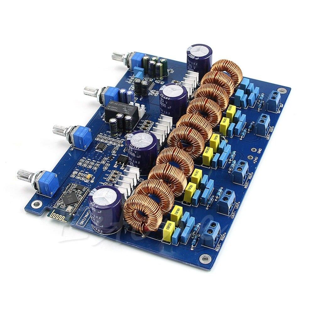 tone adjusted YJ TDA7498 2.1 200W+100W+100W 4ohm Class D Amplifier board