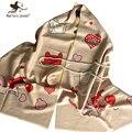Мода Зима Одеяло Шарф и Пашмины для Женщин Кашемировый Шарф и Платок Дамы Мягкая Теплая Зима Шерстяные Пашмины для Девочек