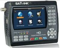 Оригинал Satlink WS 6951 DVB S/S2 HD Satellite Finder с MPEG 2/MPEG 4 соответствует и подсветка Satlink 6951 м