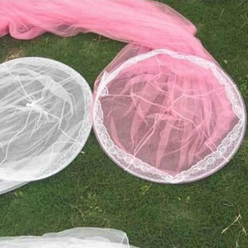 2019 Real Bulat Baby Bed Mosquito Net 60*250*900 Cm Dome Gantung Kapas Kanopi Tirai untuk Tempat Tidur Gantung anak-anak Dossel 4 Macam Warna