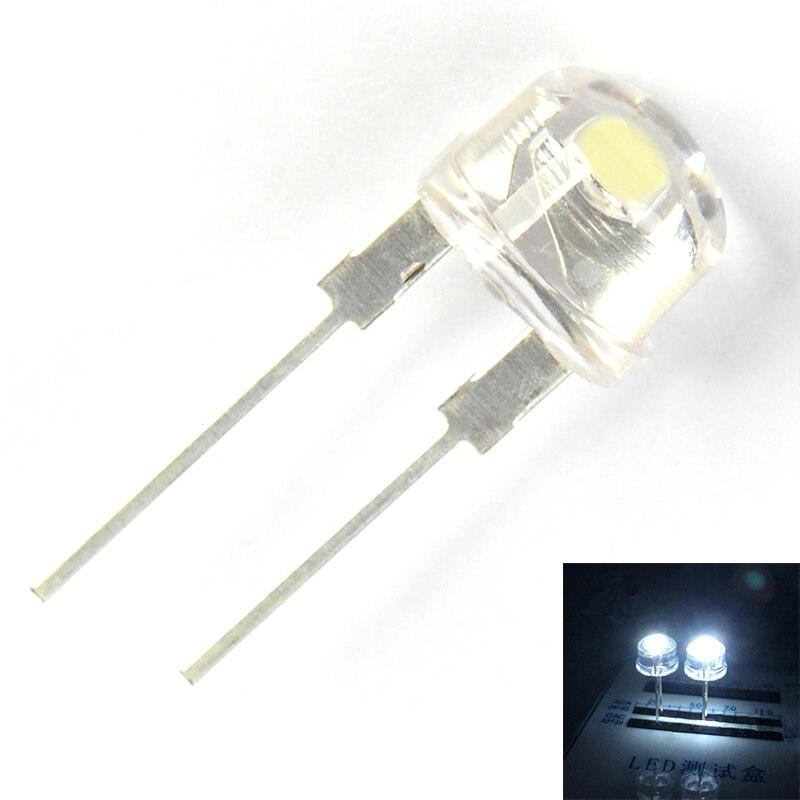 8mm Straw Hat Led: Aliexpress.com : Buy 50pcs F8 8MM White LED Super Bright