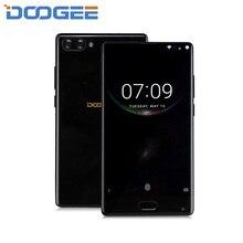 Doogee Mix 6 ГБ 64 ГБ 4 г смартфон Android 7 5.5 дюймов helio P25 Octa Core телефон 3380 мАч 16mp + 8MP двойной сзади Камера отпечатков пальцев ID