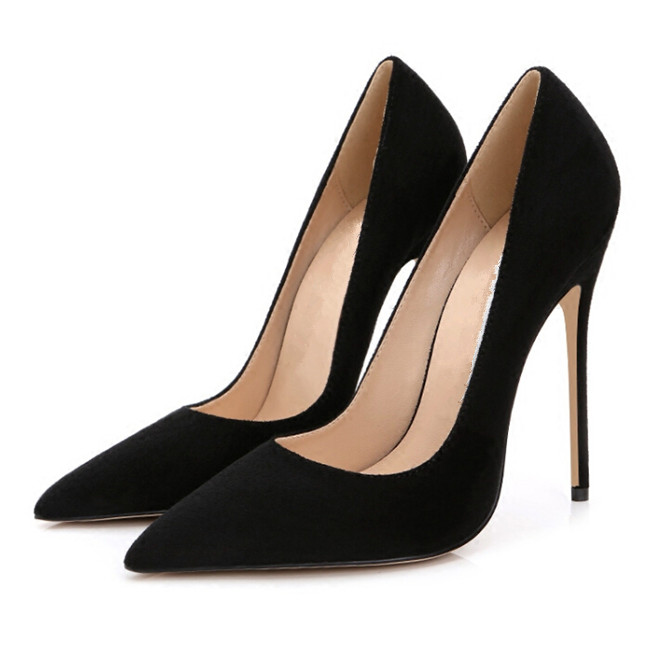 Stilettos Womens Shoes High Heels 12CM High Heels Purple Shoes Pumps Women Heels Sexy Pointed Toe