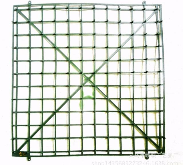 10 Stuks 30 Cm 1212 Kunstmatige Plastic Frame Voor Gras Bloem Gazon