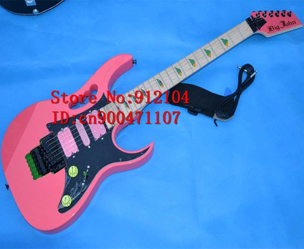 new big john double wave electric guitar with basswood body f 1378 1380 in guitar from sports. Black Bedroom Furniture Sets. Home Design Ideas