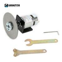 LANXSTAR Dobule Bearings 775 Motor DC24V 10000RPM 4 100mm Circular Saw Blade For Cutting Engraving Disc