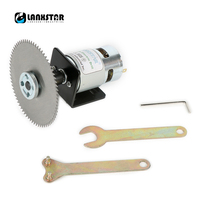 LANXSTAR Dobule Bearings 775 Motor DC24V 10000RPM 4 100mm Circular Saw Blade For Cutting Engraving Disc