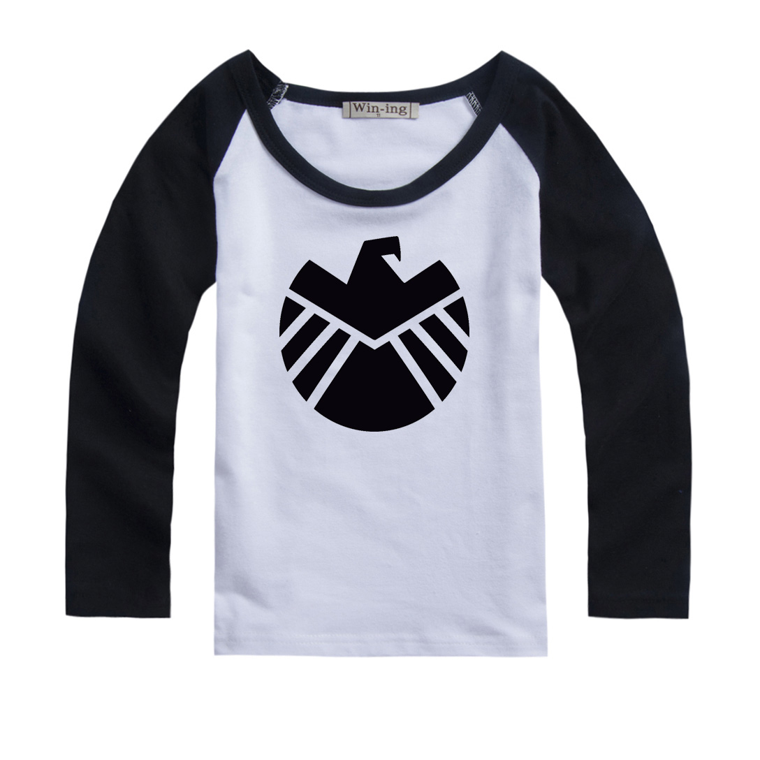 Agents of S H I E L D Design Printed Kids T Shirt Girls Boys Gift